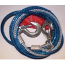 Ocelové tažné lano