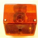 Zadní světlo čtverec 96x90mm s osvětlením SPZ