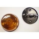 Poziční světlo kulaté oranžové (průměr 87mm) pro žárovku C5W