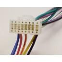 Kabel autorádia Alpine 16pin  s ISO