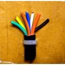 Kabel 7x1,00 sedmibarevný